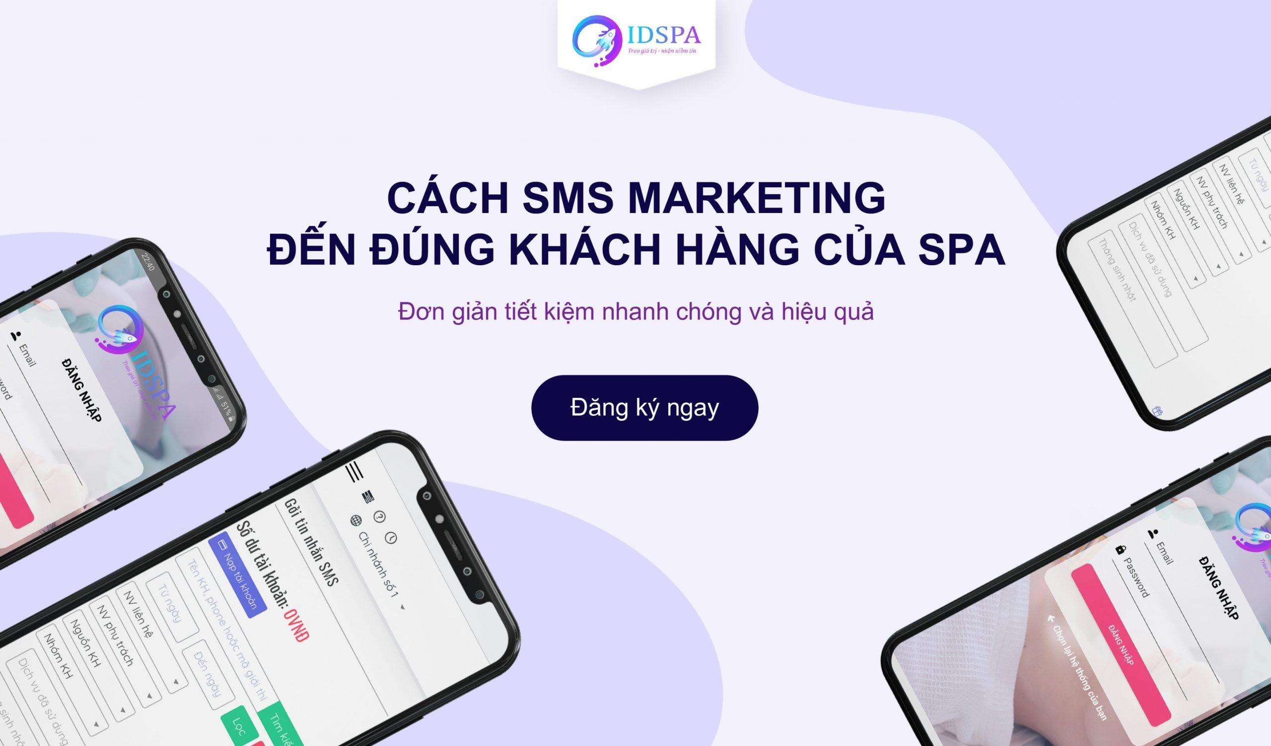 Cách SMS marketing đến đúng khách hàng của spa