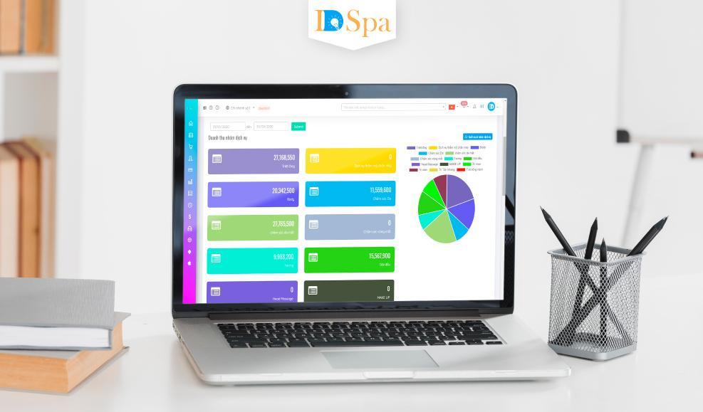 Phần mềm quản lý dịch vụ spa