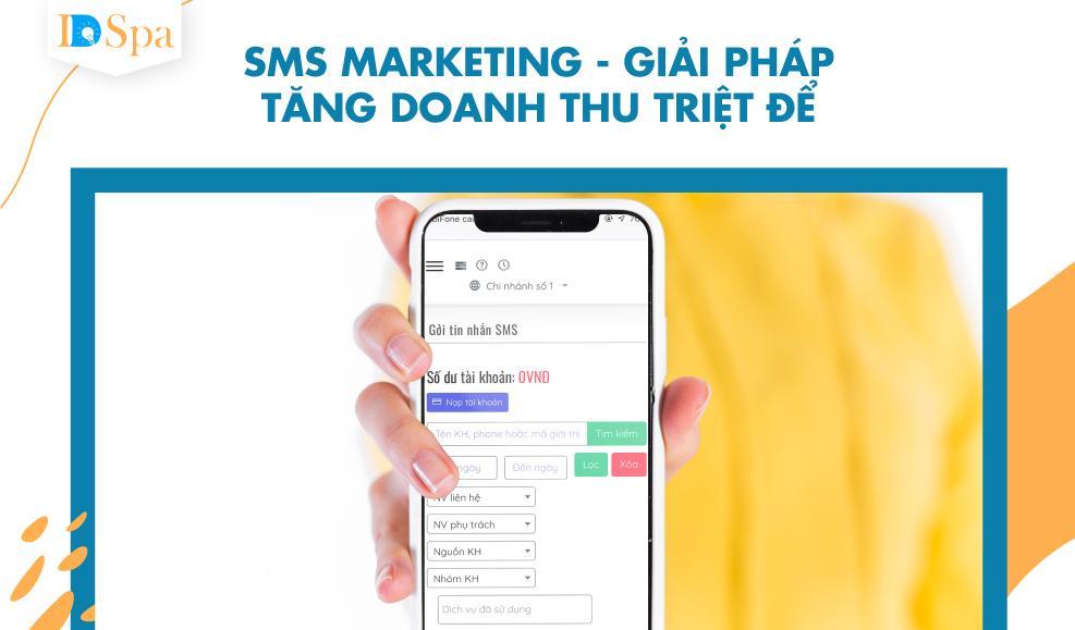 sms marketing-giải pháp tăng doanh thu triệt để