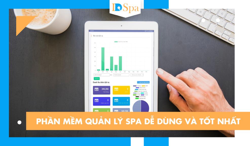 Phần mềm quản lý spa dễ dàng và tốt nhất
