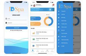 App Spa dùng cho quản lý khách hàng spa