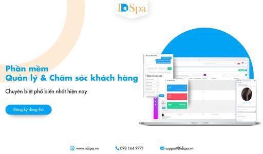Phần mềm IDSPA – Phần mềm quản lý Spa online chuyên nghiệp – hiệu quả – tiết kiệm chi phí trong vận hành – chăm sóc khách hàng.