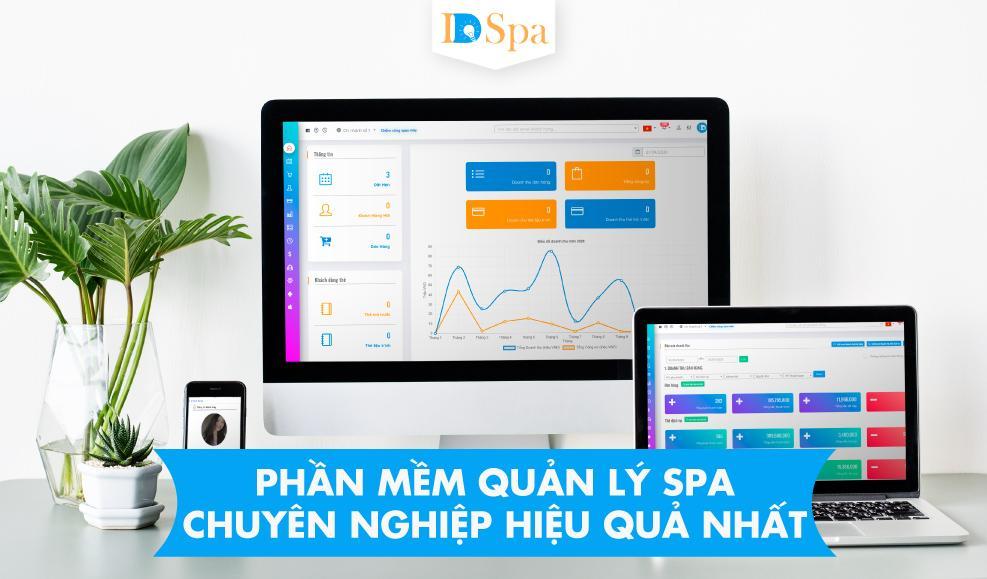 IDSPA - Phần mềm quản lý spa hiệu quả, chuyên nghiệp dành cho Spa, TMV,..