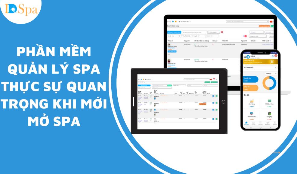 Phần mềm spa thực sự quan trọng khi mới mở Spa