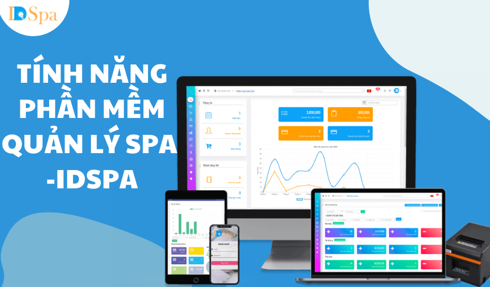 Tính năng phần mềm spa - IDSPA